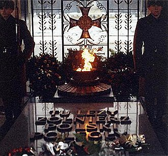 Tomb of the Unknown Soldier (Warsaw) - Image: Polish Unknown Soldier