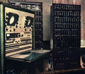 History of computing in Poland - Image: Polski komputer XYZ