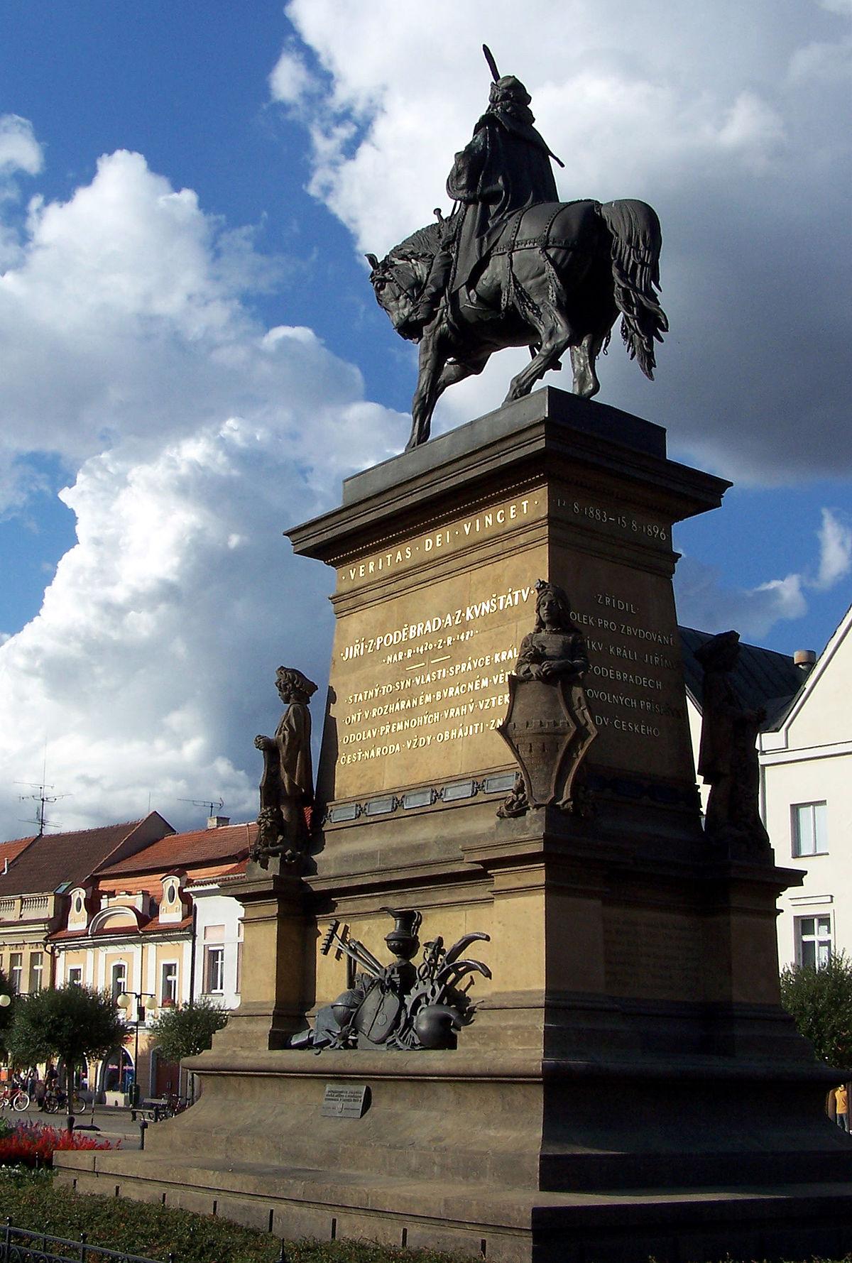 Pomník Jiřího z Poděbrad – Wikipedie