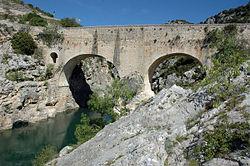 Puente del Diablo de Saint-Jean-de-Fos - Wikipedia, la