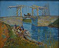 Pont d'Arles, drawbridge at Arles (South France, when he lived there). The famous painting from Vincent van Gogh 1888 - panoramio.jpg