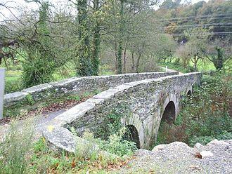 Sarria - Image: Ponte da aspera