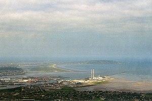 Poolbeg - Aerial view of Poolbeg