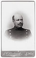 Porträtt av Göran Albin Ahlstrand (1860-1925), liberal politiker och borgmästare i Umeå. Visitkort - Nordiska Museet - NMA.0057442.jpg