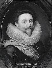 Portrait of Frederik Hendrik (1584-1647), Prince of Orange