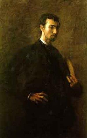 J. Laurie Wallace - G-206. Portrait of J. Laurie Wallace (circa 1883) by Thomas Eakins, Joslyn Art Museum, Omaha, Nebraska.