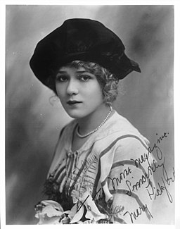 Portrait of Mary Pickford, signed (CHS-2292)