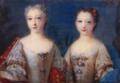 Portrait of two young princesses, miniature - Hofburg.png