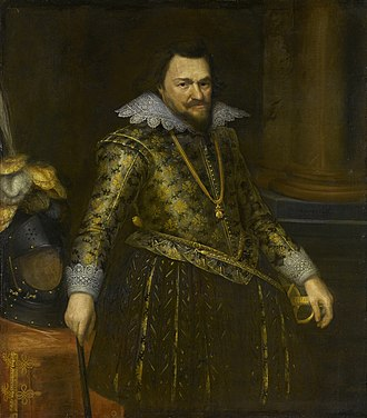 Michiel Jansz. van Mierevelt - Image: Portret van Philips Willem (1554 1618), prins van Oranje Rijksmuseum SK A 256