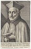 Portret van de jezuïet Claudius Aquaviva Portretten van generaal oversten van de jezuïeten (serietitel) Efigies præpositorvm generalivm societatis Iesv (serietitel), RP-P-1909-1354.jpg