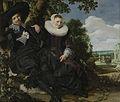 Portret van een stel, waarschijnlijk Isaac Abrahamsz Massa en Beatrix van der Laen Rijksmuseum SK-A-133.jpeg