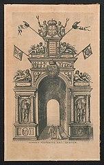 Portugese triomfboog (achterzijde)