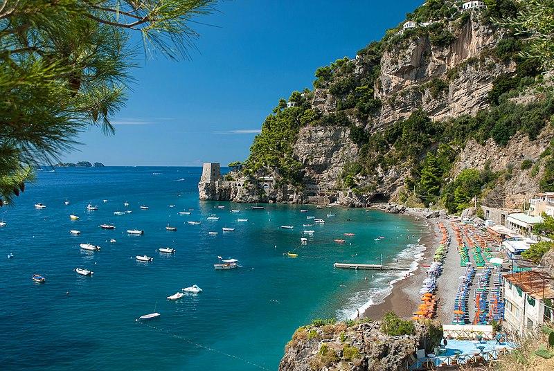 File:Positano - Fornillo Beach.jpg