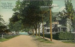 PostcardSeasideAveMilfordCT1907