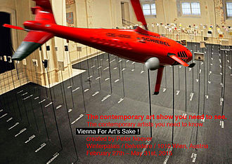 Peter Noever - Image: Postkarte vienna for arts sake 2015