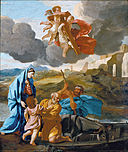 Poussin, Nicolas - The Return of the Holy Family from Egypt - Google Art Project.jpg