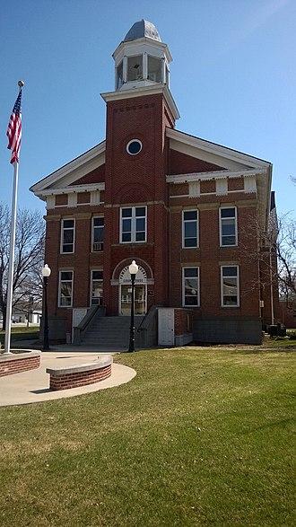 Poweshiek County, Iowa - Image: Poweshiek County IA Courthouse