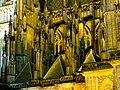 Praha, Pražský hrad, detail opěrného systému katedrály Svatého Víta.jpg
