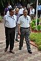 Pramod Kumar Jain and Ganga Singh Rautela - Science City - Kolkata 2015-07-15 8585.JPG