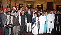 Pratibha Devisingh Patil, the Union Minister of Youth Affairs and Sports, Dr. M.S. Gill, the Defence Minister, Shri A. K. Antony, the Chief Minister of Madhya Pradesh.jpg