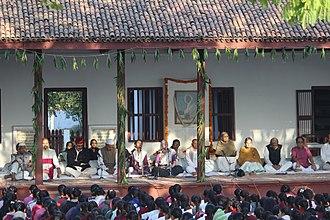 Sabarmati Ashram - prayer at sabarmati ashram on jan 30,2018