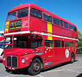 Preserved London Central Routemaster bus RML2551 (JJD 551D), 2011 Metrocentre bus rally.jpg