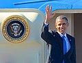 President Barack Obama lämnar Sverige 07.jpg