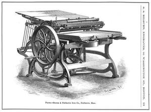 Samuel Smith Kilburn - Image: Press Specimen of Designing by SS Kilburn ca 1865