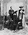 Princess Beatrice with her children and son-in-law.jpg