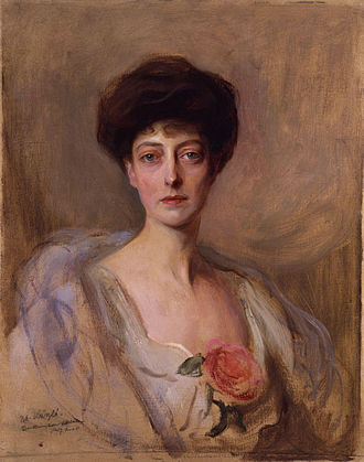 Princess Victoria of the United Kingdom - Portrait by Philip de László, 1907