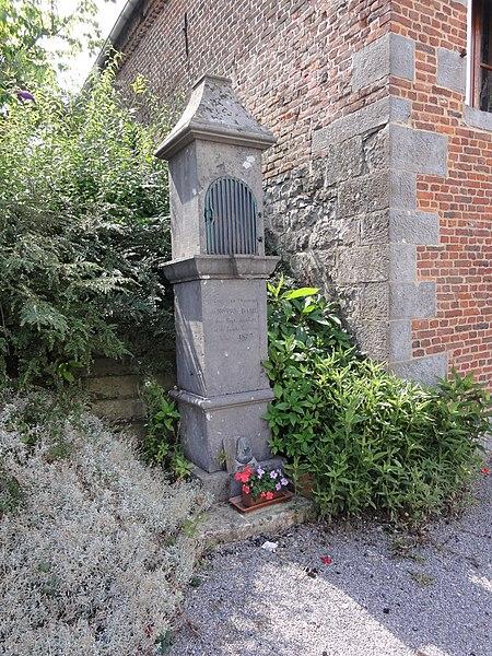 Prisches (Nord, Fr) chapelle N.D. des 7 Douleurs et Ste Saturnine 1873