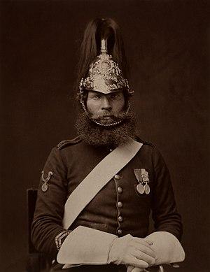 Rough Rider Michael McNamara, 5th Dragoon Guards