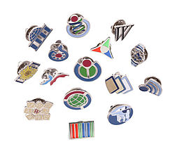 Wikipedia lapel pins