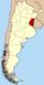 Lage der Provinz Entre Ríos
