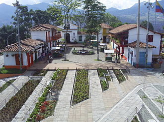 Nutibara Hill - Pueblito Paisa