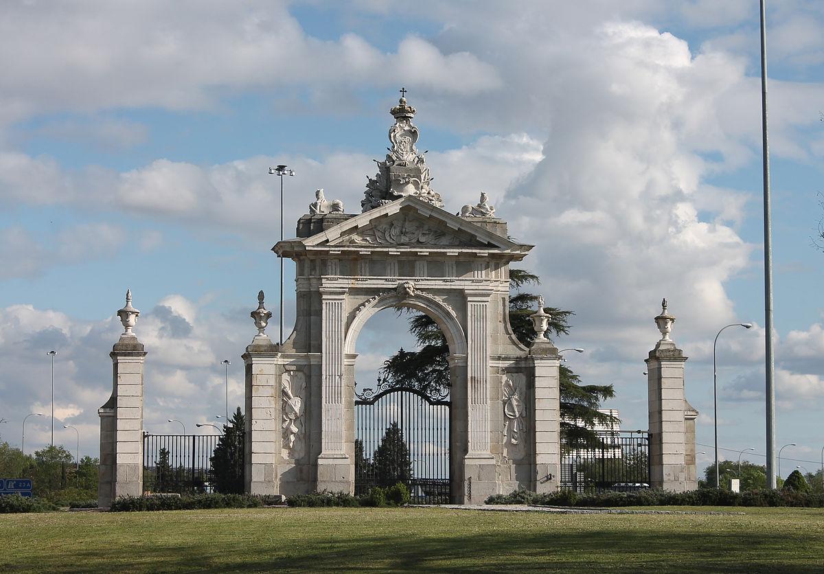 puerta de hierro madrid wikipedia la enciclopedia libre
