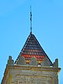 Punta del campanar de Sant Andreu de Sagàs.jpg