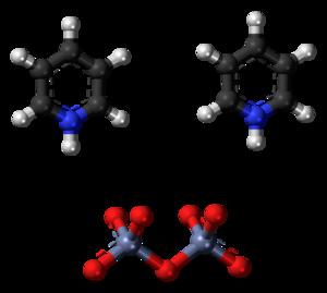 Cornforth reagent - Image: Pyridinium dichromate 3D ball