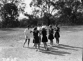 Queensland State Archives 1625 Teachers Training College folk dancing Brisbane April 1951.png