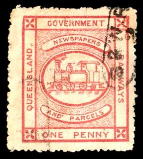 Postage stamps and postal history of Queensland