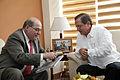 Quito, Canciller Patiño se reunió con el Secretario del ALBA (10430329773).jpg