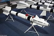 R-73 short-range air-to-air missile in Park Patriot 01.jpg