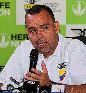 Rafael Dudamel Venezuelan footballer and manager