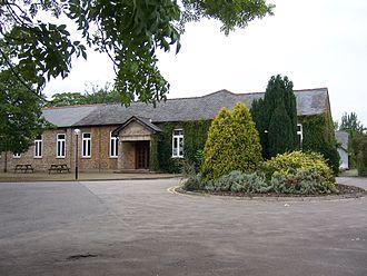 RAF Uxbridge - The Officers' Mess building at RAF Uxbridge