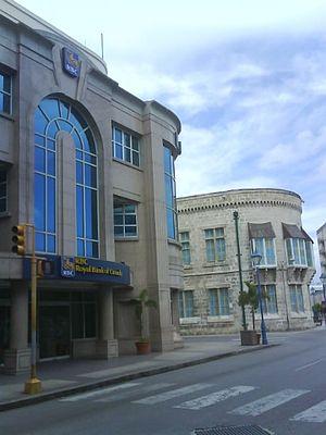 Barbados–Canada relations - Image: RBC (Upper Broad Street) Bridgetown 1