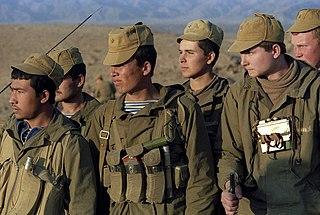 Sowjetische Soldaten in Afghanistan, Februar 1988
