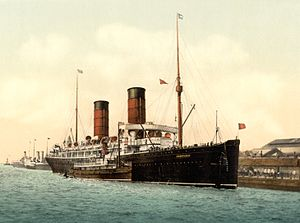RMS Campania - RMS Campania, c. 1895