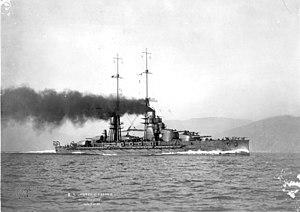 Italian battleship Conte di Cavour - Image: RN Conte di Cavour Original