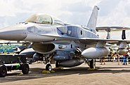RSAF F-16D Block 52+ Fighting Falcon with Conformal Fuel Tanks