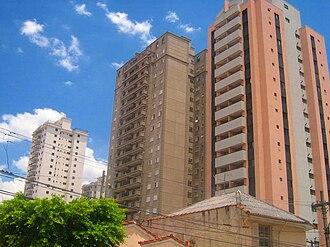 Mooca (district of São Paulo) - High rises, Alto da Mooca